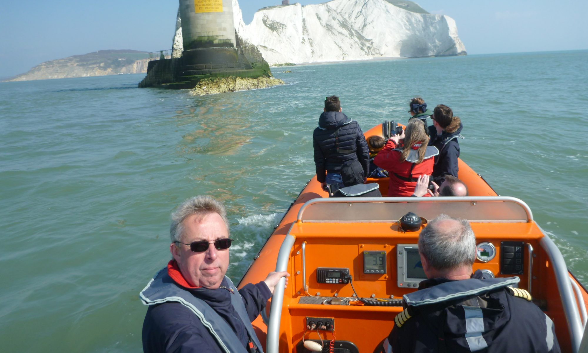 Adventure Voyages RIB Sensation at the Needles