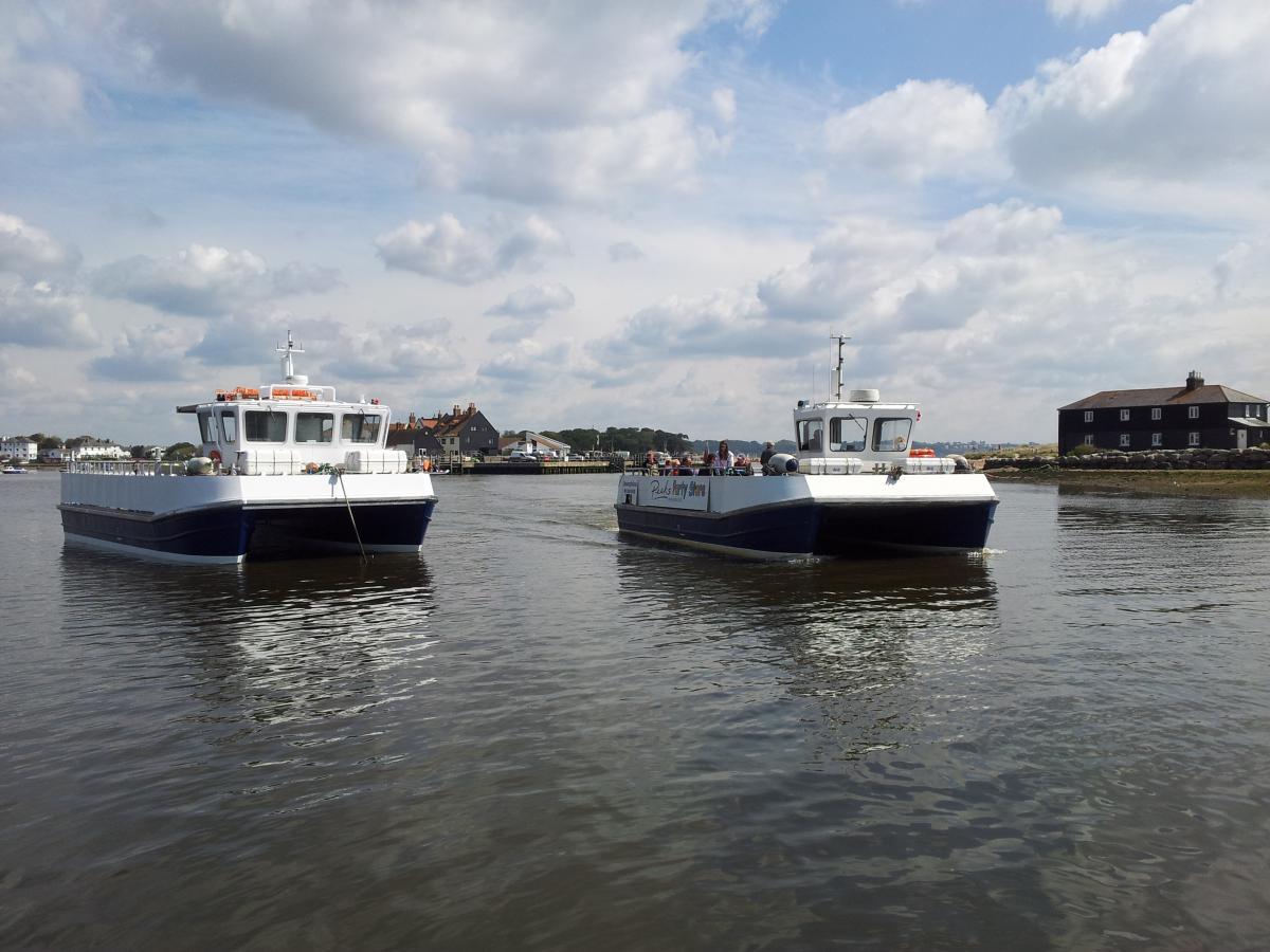Catamarans Josephine  and Josephine II